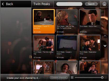 Joost Twin Peaks Channel