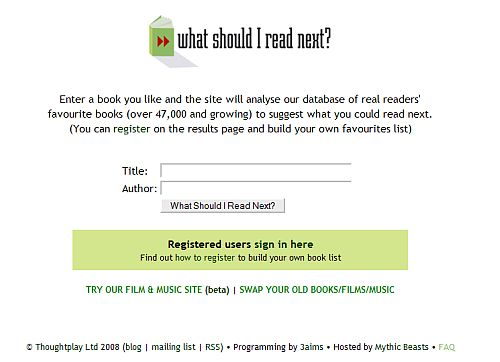 4 Sites to Help You Decide What Book to Read Next