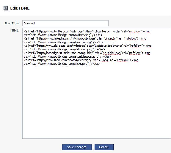 how to add a custom tab to a facebookfanpage/ Editfbml