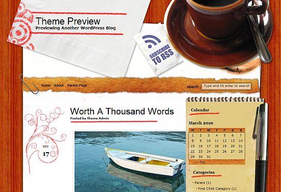 14 Free Wordpress Coffee Themes Anti Social Development