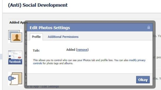 How to Hide a Facebook Tab from Being Displayed on Your