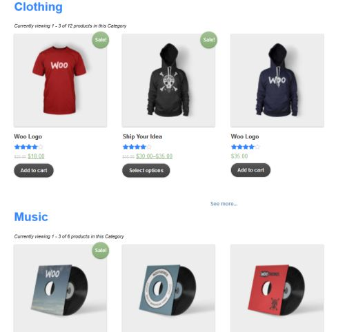 WooCommerce Product Sort and Display