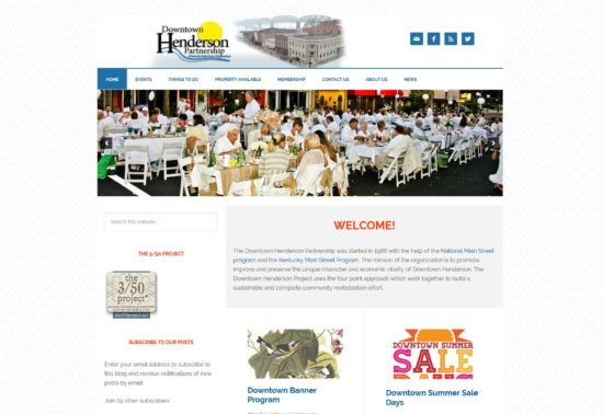 Responsive WordPress Theme - Downtown Henderson