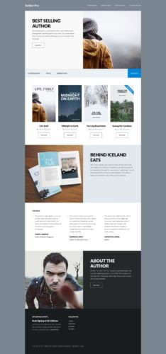 Author Pro - 9 WordPress Themes for Selling Books Online