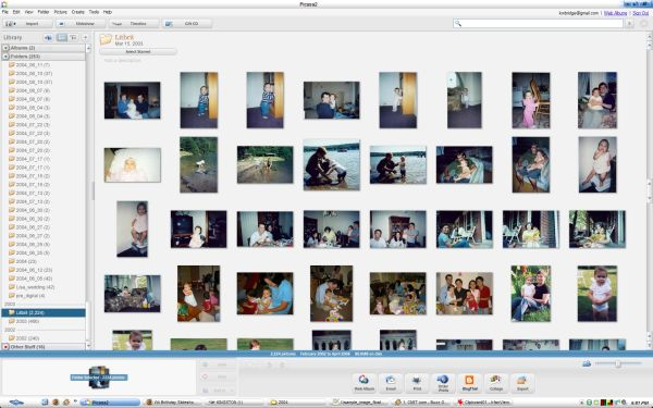 Photo Library in Picasa