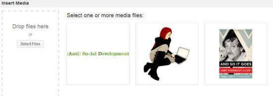 WordPress 3.5 Insert Media