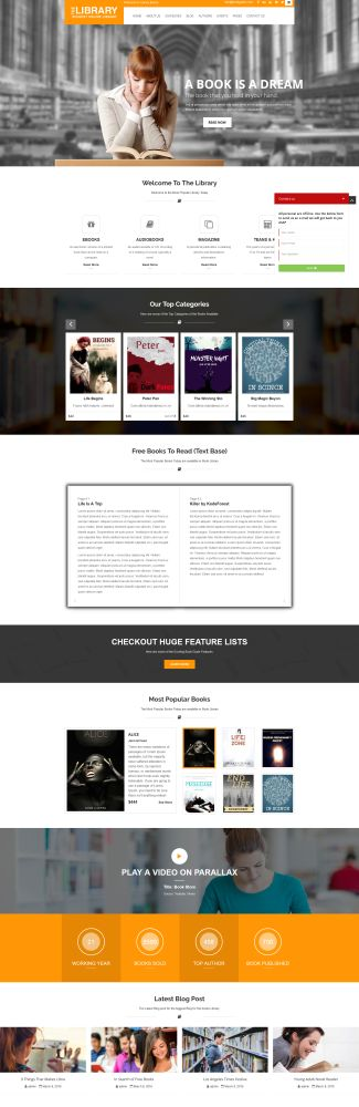 Book Guide - 9 WordPress Themes for Selling Books Online
